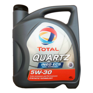 Масло TOTAL QUARTZ INEO ECS 5W30 4L