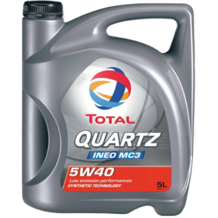 Масло TOTAL QUARTZ INEO MC3 5W40 5L